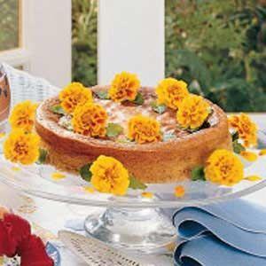 cheesecake de cempasúchil