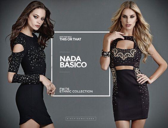 O black dress ganha status fashion com recortes e aplicações apaixonantes!   #fallwintermoikana16