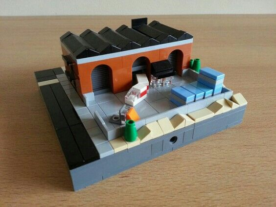 Brick Warehouse | Lego Micropolis | Pinterest | Warehouse, Legos and ...