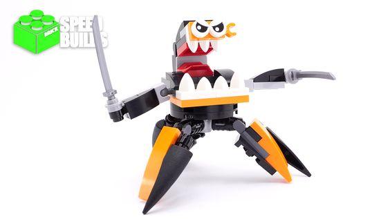 LEGO Mixels Series 9 Nindjas Spinza - LEGO 41576 Speed Build #lego #mixels #spinza #brickspeedbuilds