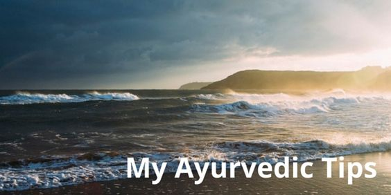 My Ayurvedic Tips – These are the Ayurvedic tips I've added to my routine. Do things that a) you're comfortable with b) fit with your life. The rest will take care of itself #ayurveda #ayurvedic #mindbodyearth