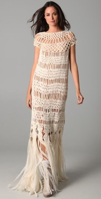 James Long Full Macrame Dress | SHOPBOP SAVE UP TO 30% Use Code: MAINEVENT16