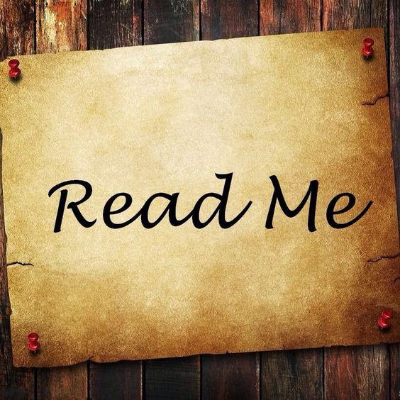 Read Me ...