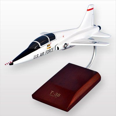 Hobby Rocket  Mastercraft Collection MCT38AAFW T38A Talon USAF Wood Desktop Model * Click image for more details.