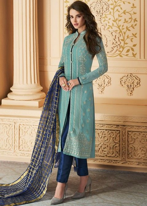 Pant Style Salwar Suit Design