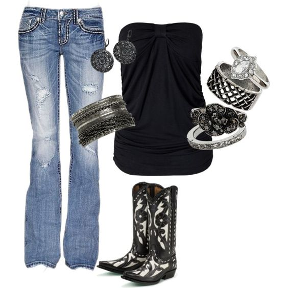 """""""Aaron Lewis Concert Outfit"""" by laurenfain on Polyvore"""
