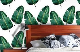 Image result for tropical print interiors