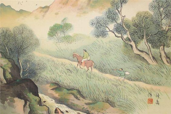 Ono Chikkyo 小野竹喬 (1889-1979).