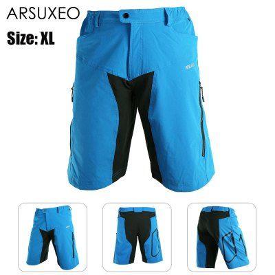 Llévalo por solo $128,400.ARSUXEO DH-2 hombres de secado rápido respirable Pantalones cortos de ciclista.
