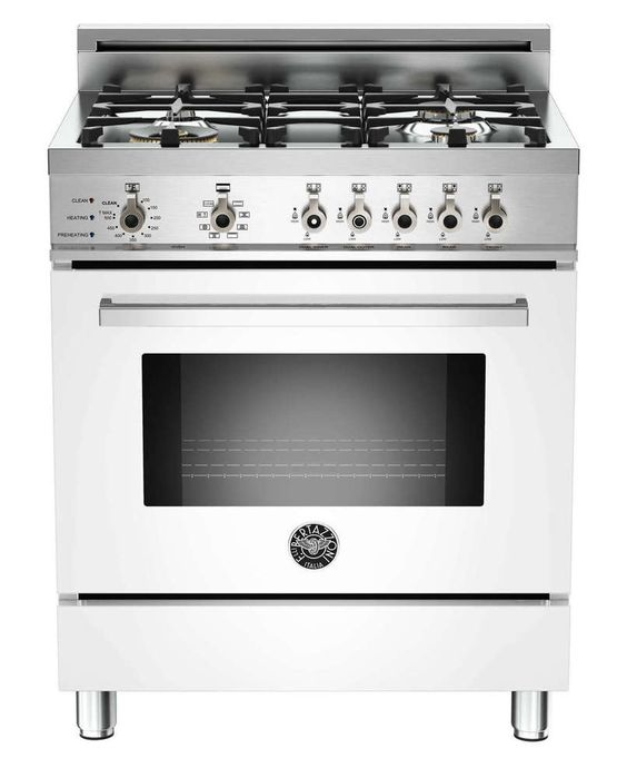 """30"""" Professional Series Dual Fuel Freestanding Range with 4 Burners, Sealed Burner Cooktop, None Drawer, 3.4 cu. The finish is acid and temperature resistant to give a long-lasting lustre, bringing a new dimension to the design and style of your kitchen.Available at AppliancesConnection. 