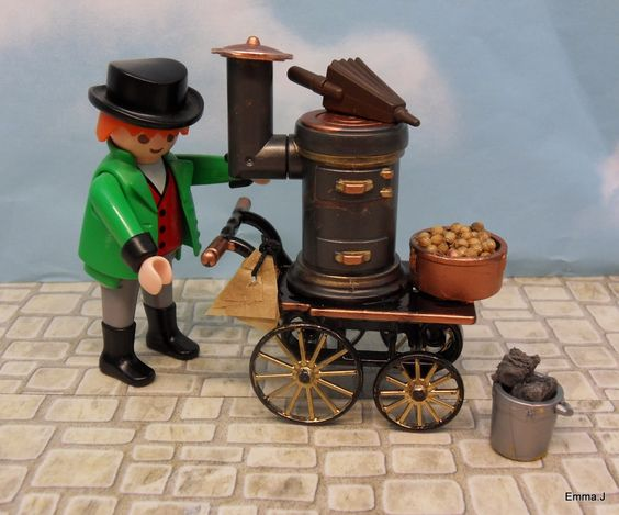 Victorian Traders ~ Emma.J's Playmobil