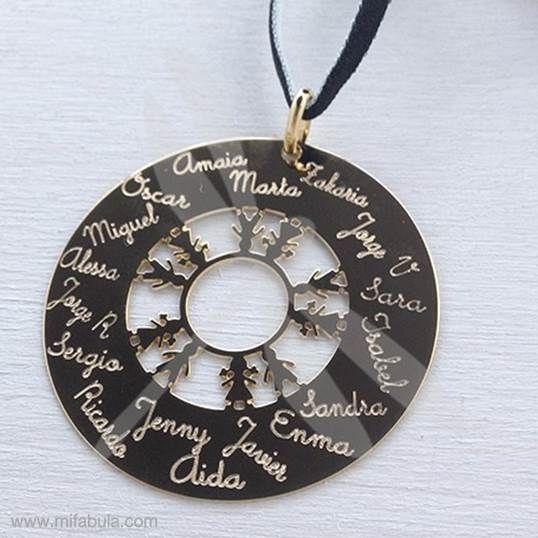 Amor de alumnos hecho collar ;) www.mifabula.com #joyas #regalos #findecurso