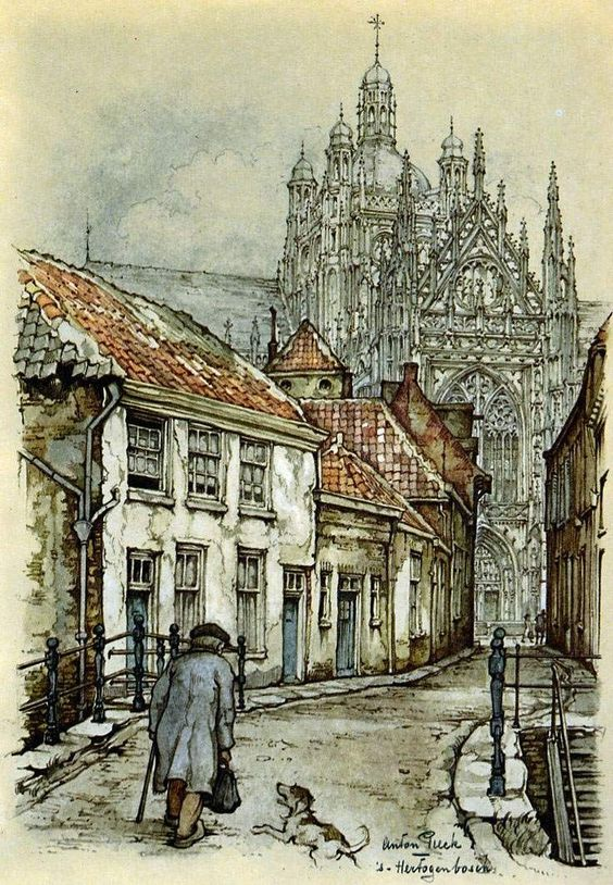 Anton Pieck (Dutch Illustrator 1895-1987):