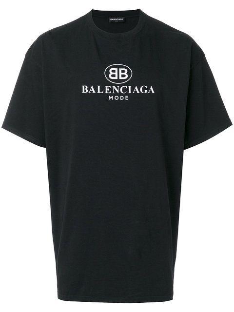 new collection new arrival amazing price Shop Balenciaga BB Mode T-shirt. | Balenciaga t shirt ...