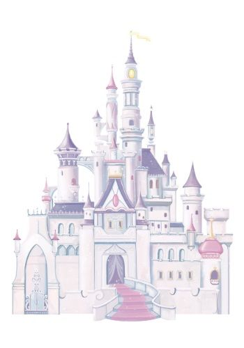Princess Castle Wall Decals With Glitter