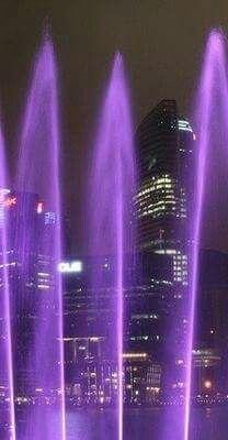 A Purple Night!