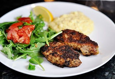 Parmesan Crusted Pork Cutlets