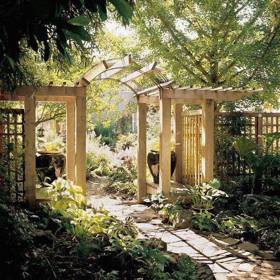 Fence Gate Arbor: Gardens, Beautiful And Backyards
