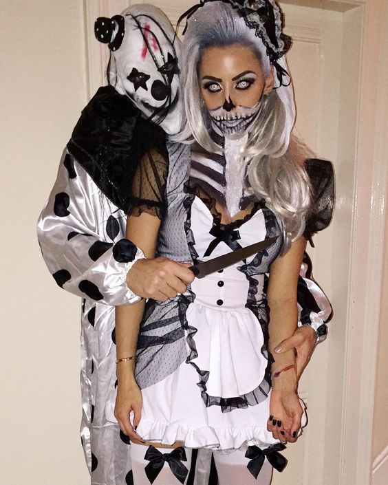 creep couple 24 best ever halloween costumes for couples homemade halloween costumehot