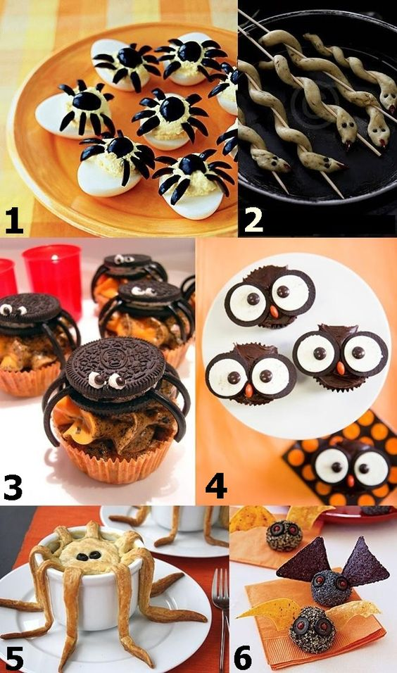 halloween finger foods ideas