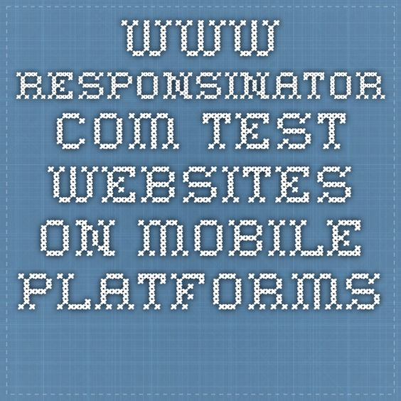 www.responsinator.com  test websites on mobile platforms.