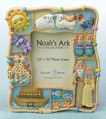 Lillian Rose Noah's Ark Picture frame Baby Shower Gift