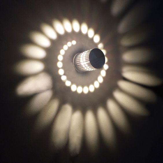 3W LED Wandleuchte Badlampe Wandlampe Flurlampe Lampe Außenleuchte Außenlampe