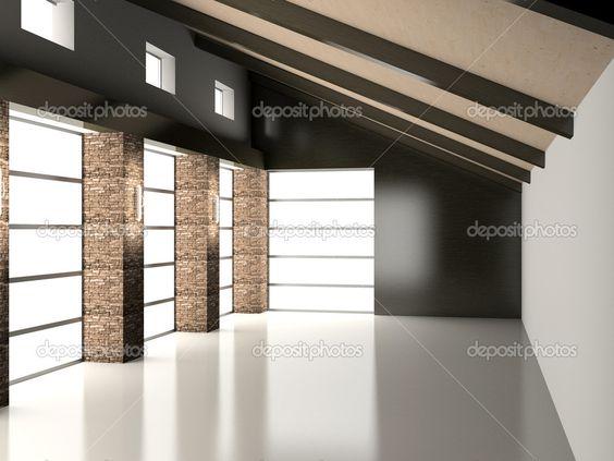 empty interiors   Empty interior - Stock Image