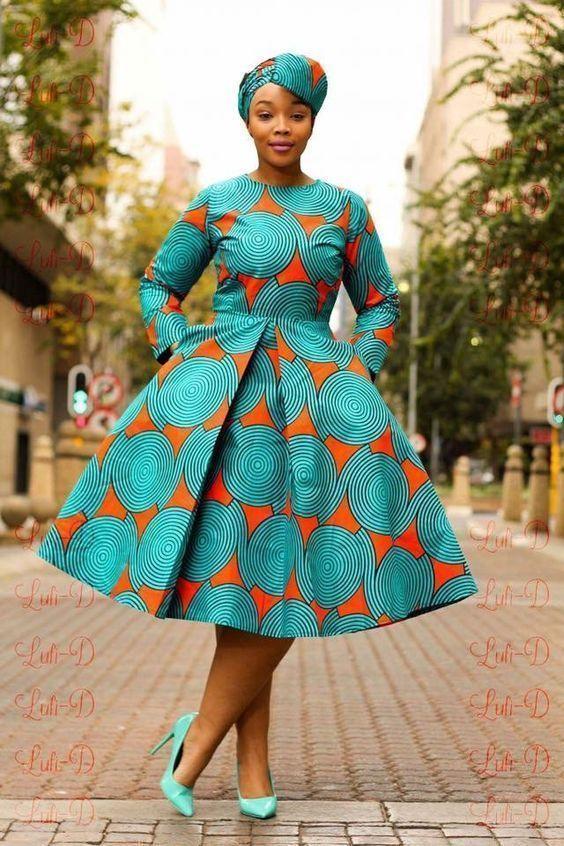 African Print Short Dress African Fashion Ankara Kitenge African Women Dresses African Prin Short African Dresses African Fashion African American Fashion