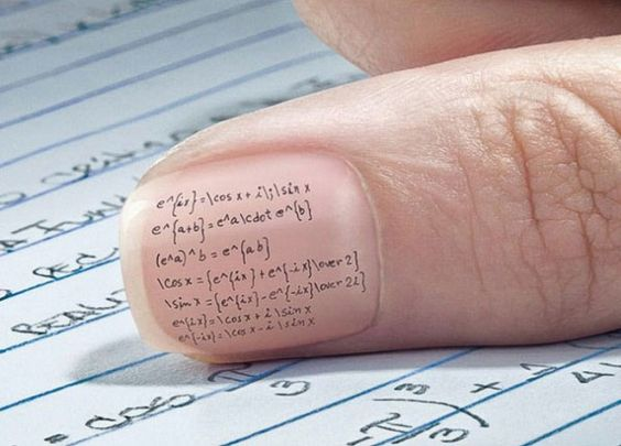 How to cheat on a test..omg LOL. Why didnt I think of this!! LOL