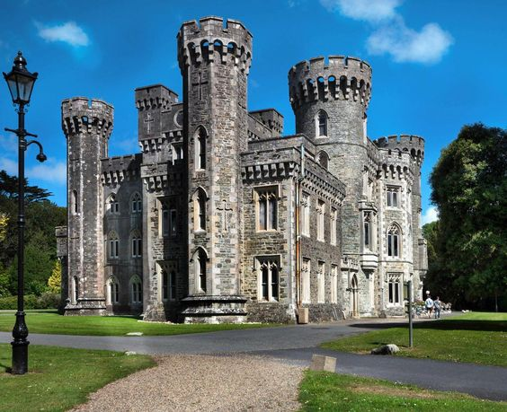 "Castle Pix on Twitter: ""Johnstown Castle, Ireland was  built for the Grogan Morgan family between 1810 and 1855. http://t.co/gh1M5C1nLC"""