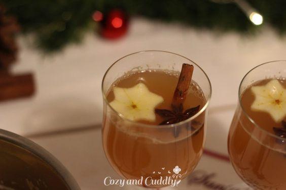 Rezept für Bratapfelpunsch (alkoholfrei)