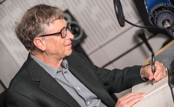 Image result for bill gates writing