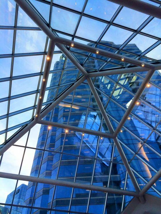 Minneapolis, through the glass. (c) rockandvossbooks