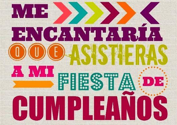 Invitaci n fiesta de cumplea os imprimible gratis www - Fiesta cumpleanos 8 anos ...