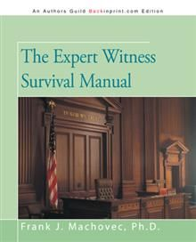 This practical book helps the expert witness new to court to prepare psychologically as well as professionally for courtroom testimony. It provides a comprehensive overview of the legal process, trial procedures, and the role of the expert in the adversarial system of state and federal courts.