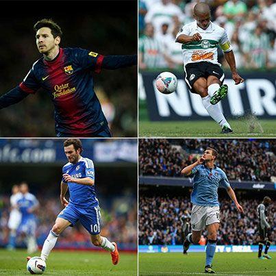 Gênios da bola! Conheça os melhores camisas 10 do futebol mundial http://r7.com/IjEb #EsporteFantástico