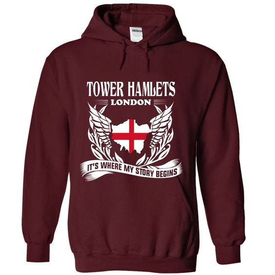 Tower Hamlets It's Where My Story Begins T-Shirts, Hoodies. GET IT ==►…