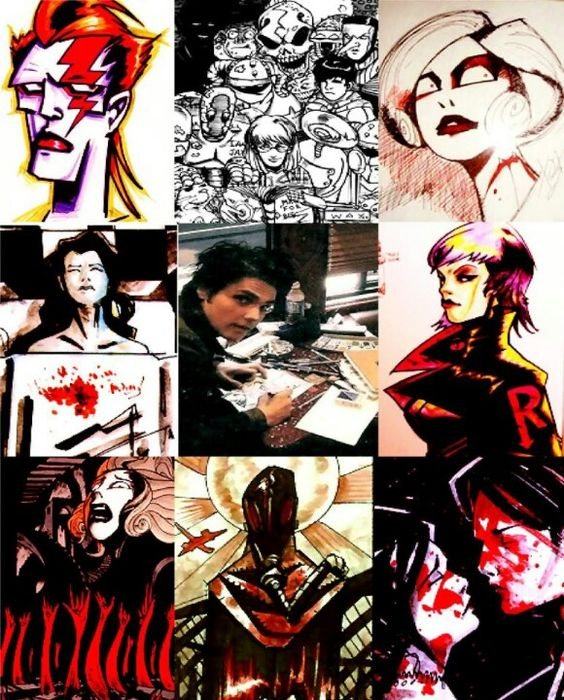 Gerard Way's art    he's so talented I just *flails arms in attempt to show amount of talent*