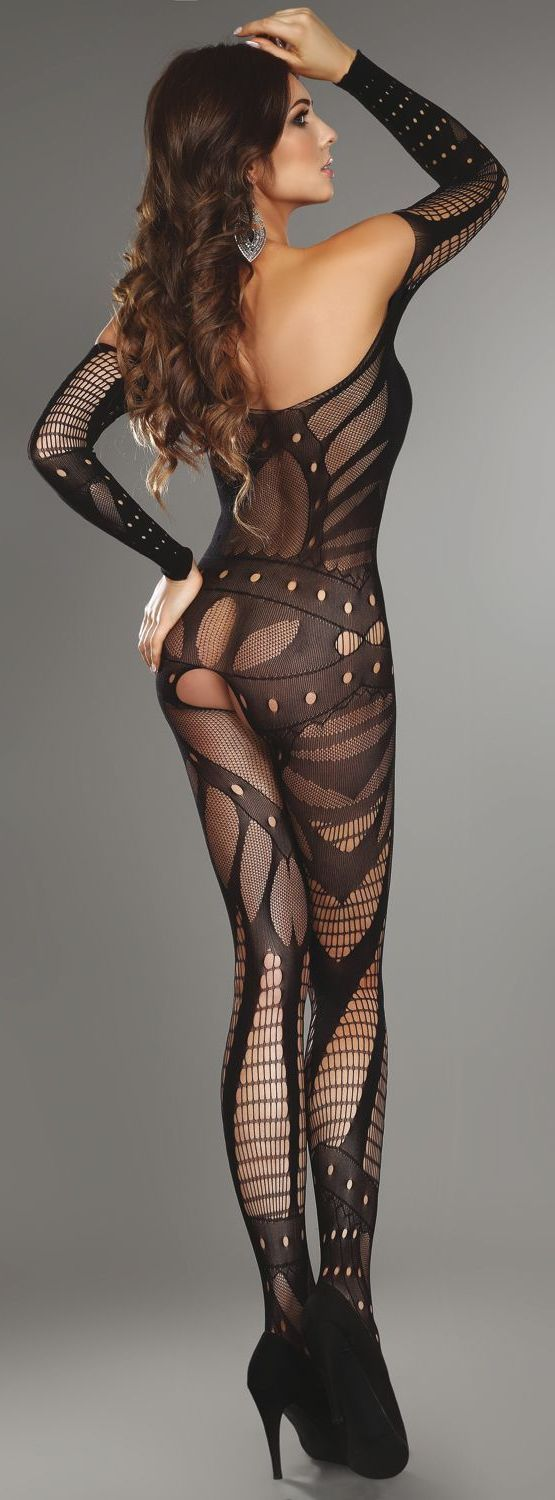 i like this body stocking-it has a tough girl vibe about it
