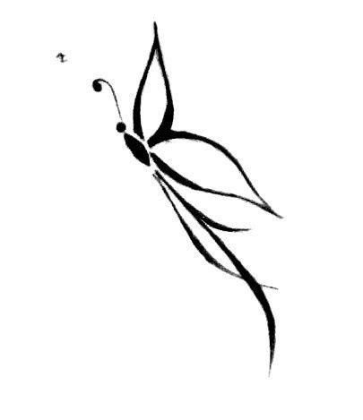 butterfly draw | mini-tattoos | Pinterest | Nice ...