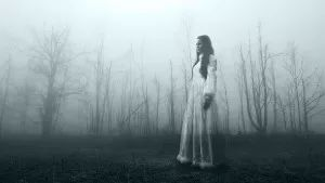 Walking Slowly, Waiting For You To Join Her #scarywomen #evilwomen #ghosts