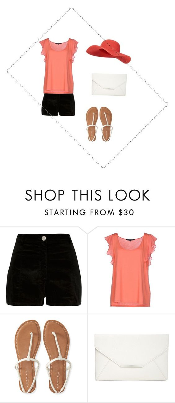 """""""A really ugly outfit bc im terrible at this app"""" by claire3102 ❤ liked on Polyvore featuring River Island, French Connection, Aéropostale, Style & Co. and Monsoon"""