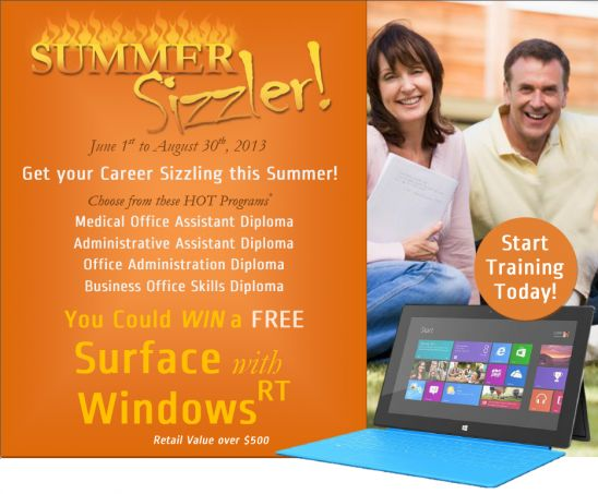 Get your Career Sizzling this Summer with AOLC'S Summer Sizzler!