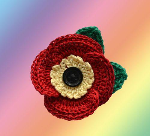 memorial day poppy flower craft