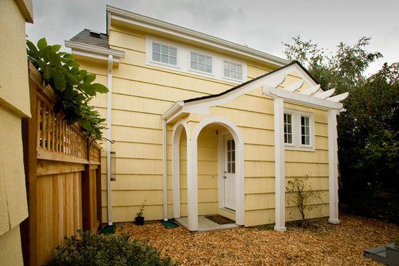 Garage adu office dwelling 400 sq ft by endpoint design for Adu garage plans