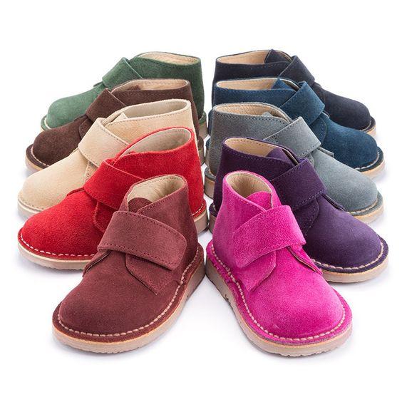 Chaussures Montantes Safari avec Velcros pour Enfants et Adultes