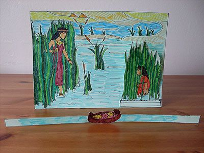 Birth of Moses. This craft will help you prepare your Sunday school lesson on Exodus 1:1 - 2:10 on the Bible story of Moses birth.