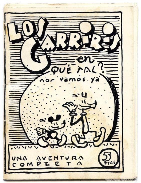 ESPAÑA - COMIC UNDERGROUND - LOS GARRIRIS EN: ¿QUE TAL? - JAVIER MARISCAL - BARCELONA 1976 - Foto 1