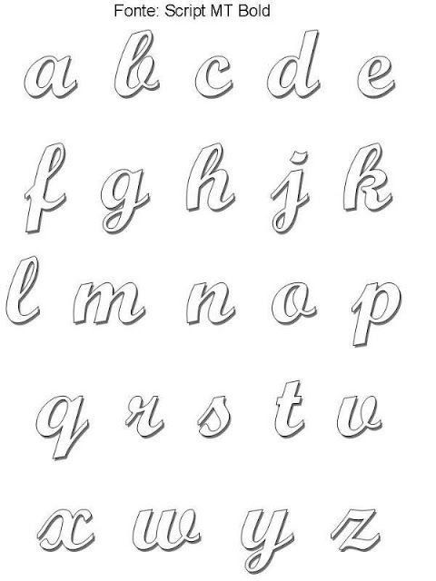 Pin By Micaela On Insp P O Meu Bullet Journal Lettering Alphabet Cursive Bubble Letters Lettering Tutorial